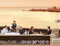 Hotel marinedda and the beach
