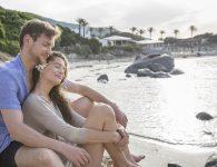 Capo Boi couple beach