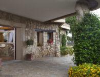 Pitrizza-Reception Entrance
