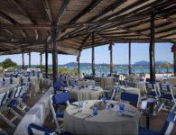 Romazzino-Barbeque restaurant on the bea