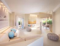 Chia Laguna_Hotel Baia_Suite Incanto_Living + Dining