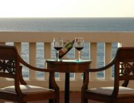 Las Tronas room terrace sea view